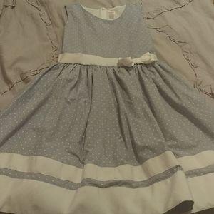 Girls youth polka dot dress